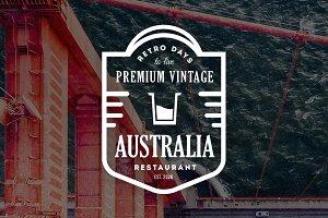 15 Vintage Logos & Badges V1