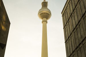 Berlin TV Tower. Photography.