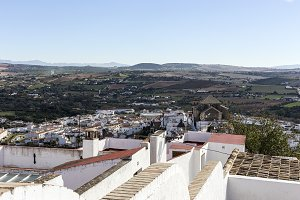 White villages of Andalucia. Typical