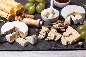 Cheese delicious plate