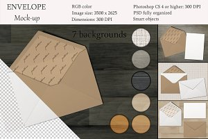 Greeting Cards & Envelope mockup