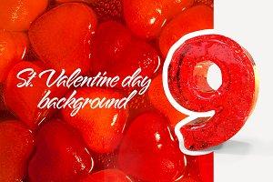 9 Valentine's day background