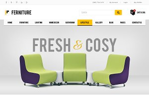 Furniture - Premium Prestashop Theme