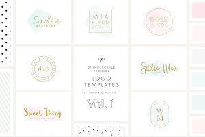 Impeccable Premade Logo Bundle Vol.1