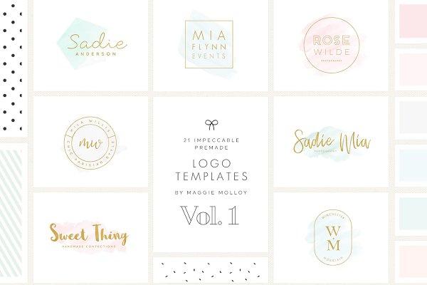 Impeccable Premade Logo Bundle Vol…