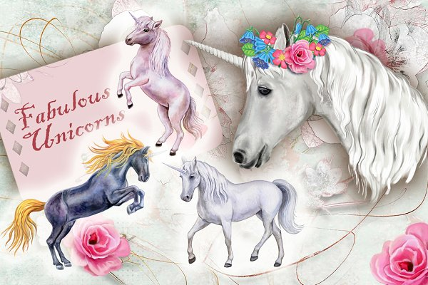 20% OFF! Fabulous Unicorns