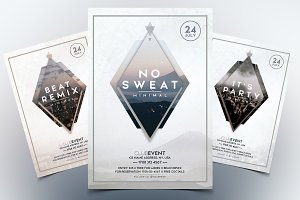 Minimal Event - 3 PSD Flyer Template
