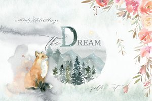 Dream - Fairy Watercolor Collection