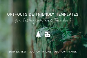 Opt-Outside Themed Templates