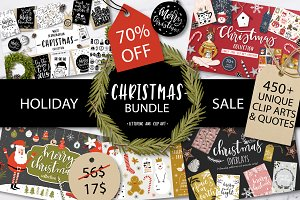 Christmas BUNDLE 70% OFF
