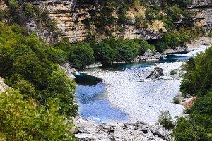 stony mountain river