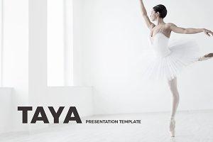Taya Presentation Template