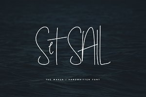 The Maker | Handwritten Font