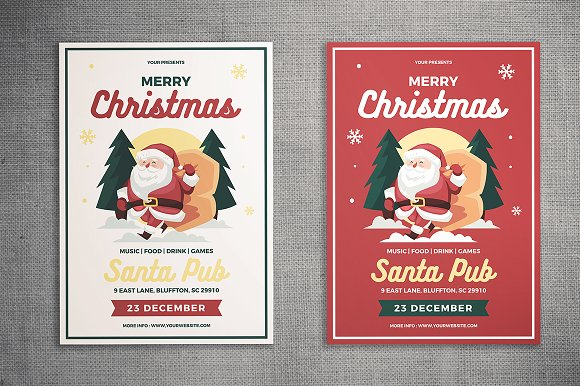 Christmas Flyer-Graphicriver中文最全的素材分享平台