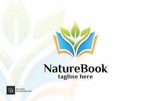 Nature Book - Logo Template