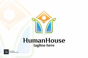 Human House - Logo Template