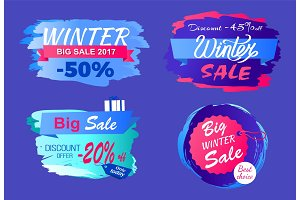 Winter Big Sale 2017 Half Price Discount Today Set