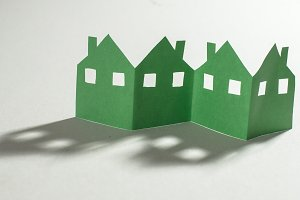 Figures of many houses