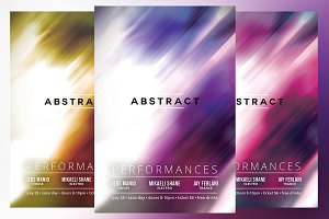 Abstract Flyer