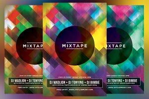 Mixtape Party Flyer