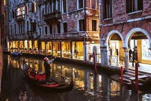Venice gondola, Italy.