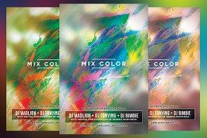 Mix Color Club Flyer
