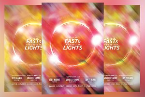 Fast Lights Flyer