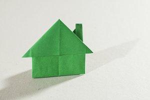 House figure origami