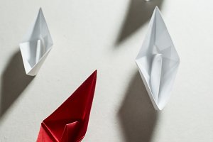 Christmas tree origami