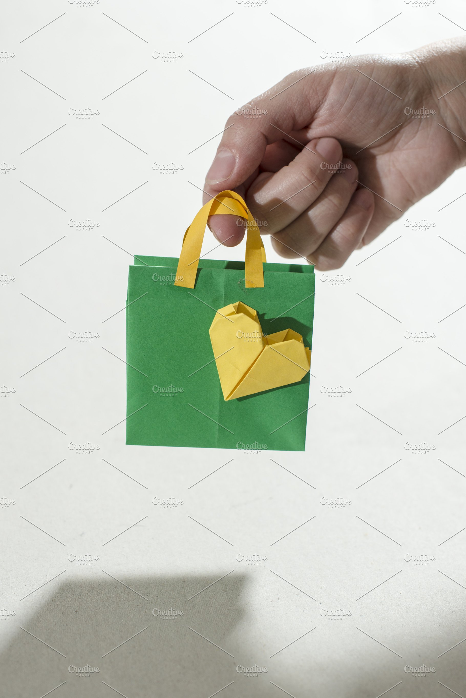 Small Shopping Bags Origami