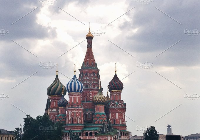 St. Basil Cathedral, Moscow, Russia - Architecture