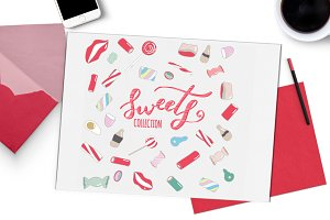 Sweets collection - hand drawn