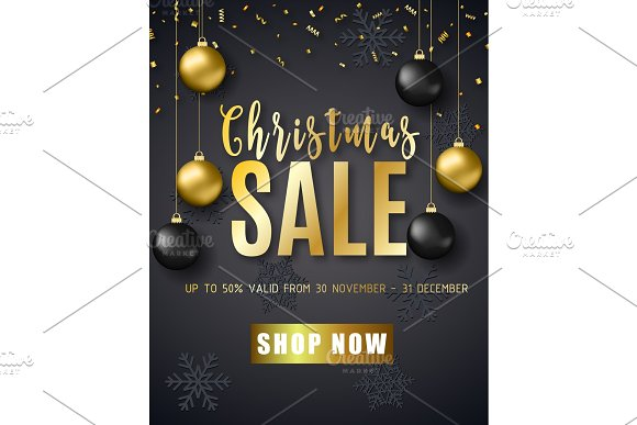 Poster For Christmas Sale