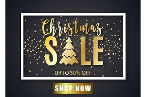 Poster for Christmas Sale