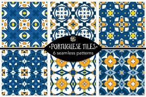 Set 107 - 6 Seamless Patterns