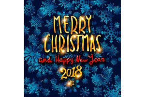 Merry Christmas Happy New Year 2018