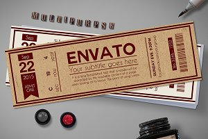 Multipurpose retro ticket 01