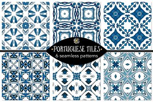 Set 108 - 6 Seamless Patterns