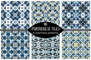 Set 110 - 6 Seamless Patterns
