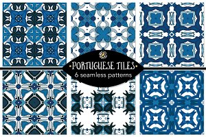 Set 113 - 6 Seamless Patterns