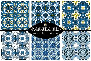 Set 114 - 6 Seamless Patterns