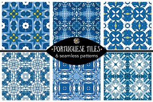 Set 115 - 6 Seamless Patterns