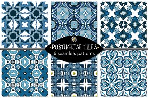 Set 116 - 6 Seamless Patterns