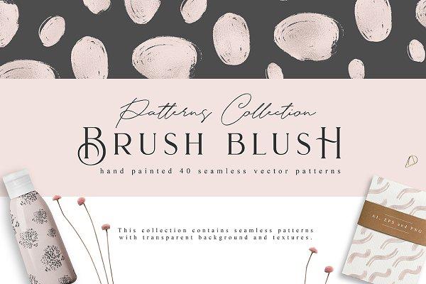 Brush Blush Patterns