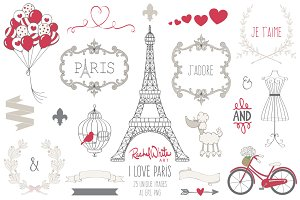 I Love Paris, Vector