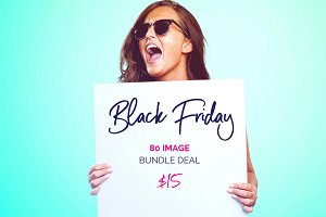 Black Friday 80 Image Bundle Deal