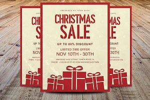 Christmas Sale Flyer/Poster