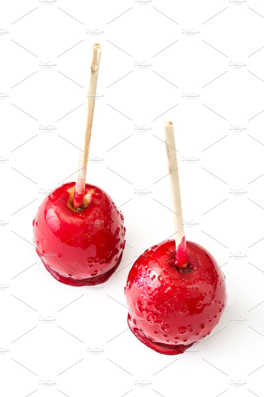candy christmas apples food drink - Christmas Candy Apples