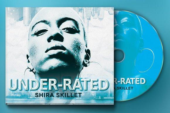 Underrated 4Panel Digipak CD Artwork