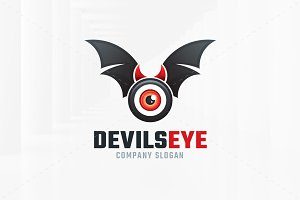 Devils Eye Logo Template